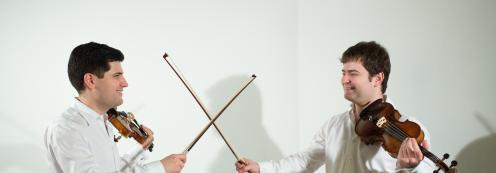 Concierto Solidario de Navidad Dúo Pochekin, violín y viola, a beneficio de la Asociación Actays