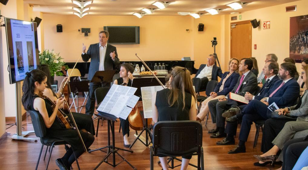 Disfruta la música - Escuela Superior de Música Reina Sofía